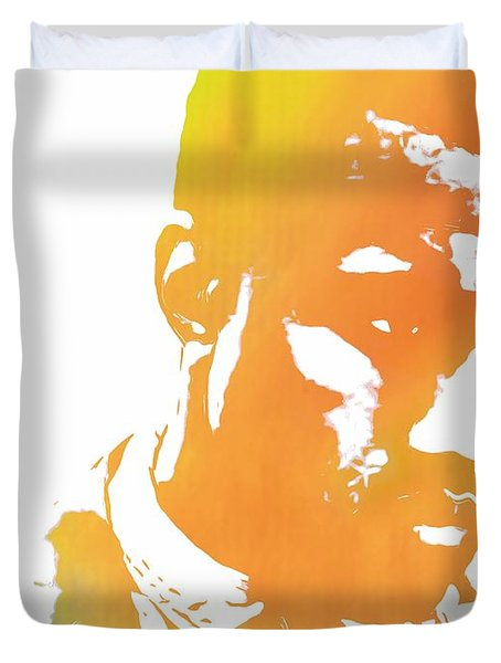 Kanye West Pop Art Duvet Cover