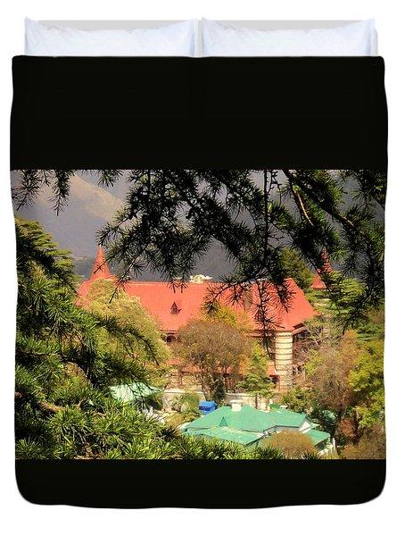 Kapurthala Palace Mussoorie Duvet Cover by Salman Ravish
