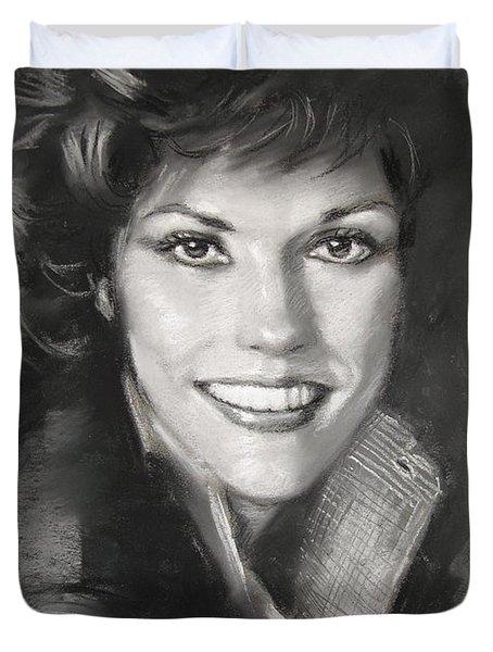 Karen Carpenter Duvet Cover