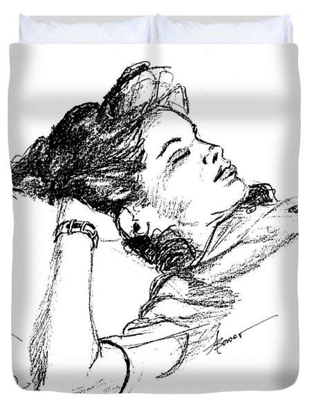 Karen's Nap Duvet Cover