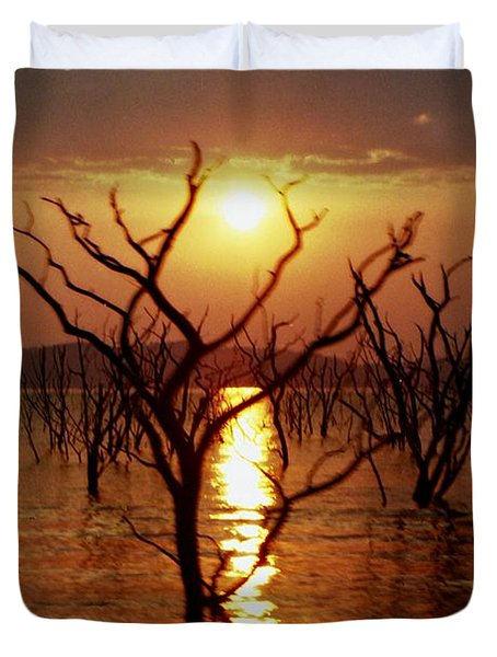 Kariba Sunset Duvet Cover