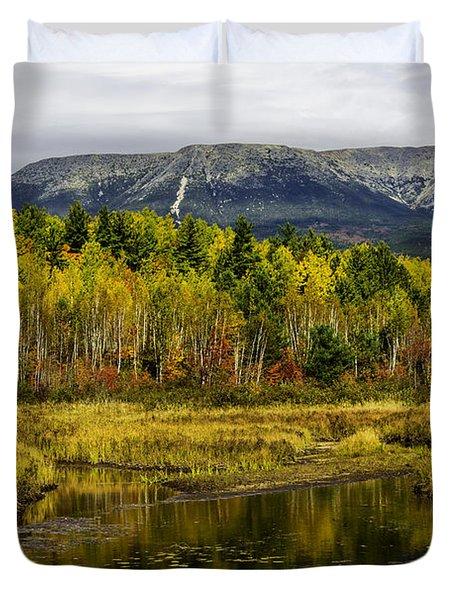 Katahdin Baxter State Park Maine Duvet Cover
