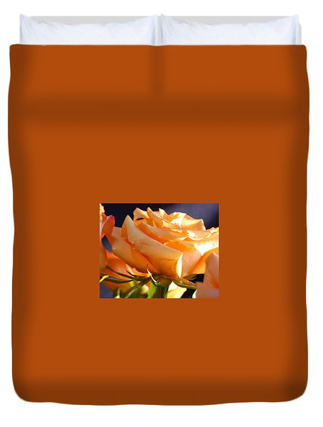 Kathy's Rose Duvet Cover
