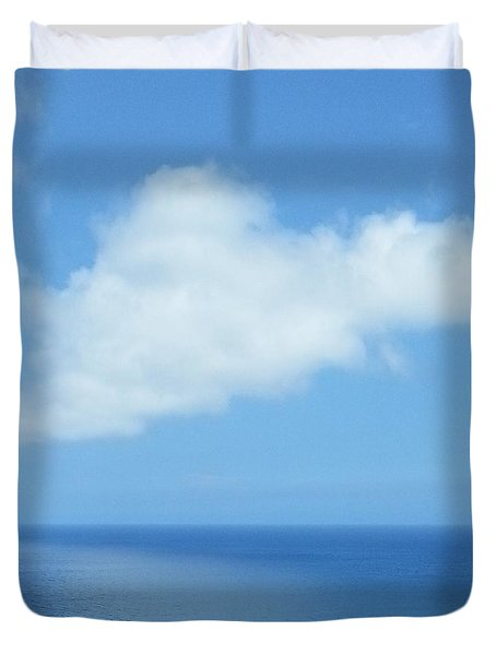 Duvet Cover featuring the photograph Kauai Blue by Joseph J Stevens