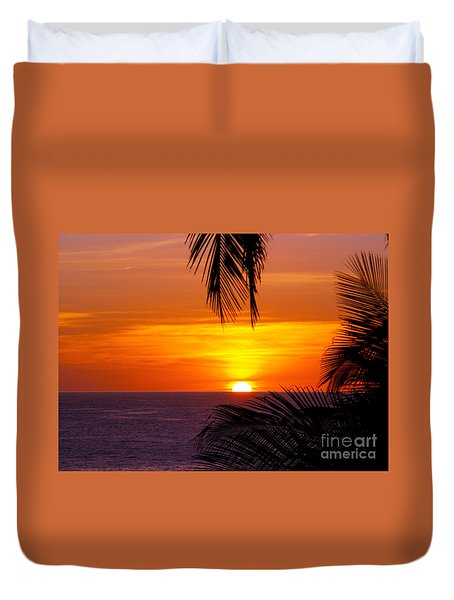 Kauai Sunset Duvet Cover by Patricia Griffin Brett
