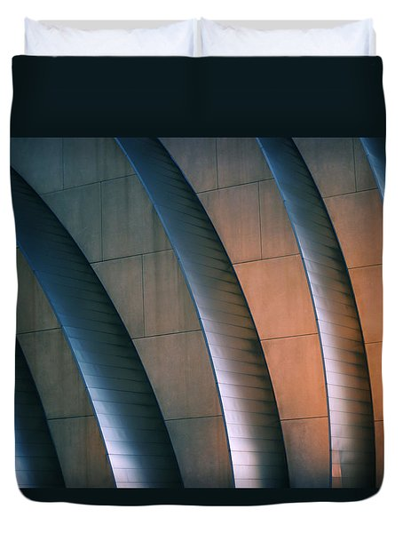 Kauffman Performing Arts Center Duvet Cover