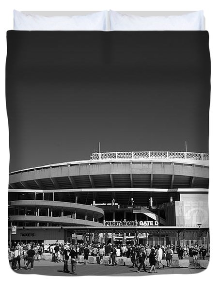 Kauffman Stadium - Kansas City Royals 2 Duvet Cover by Frank Romeo