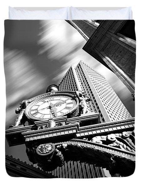 Kaufmann's Clock Duvet Cover