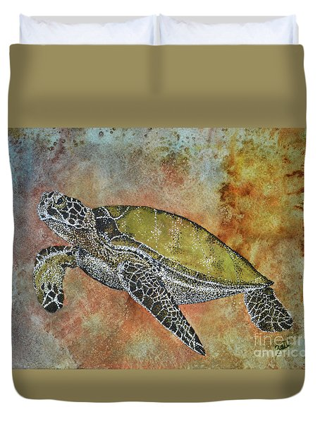 Kauila Guardian Of Children Duvet Cover