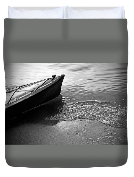 Kayak Duvet Cover