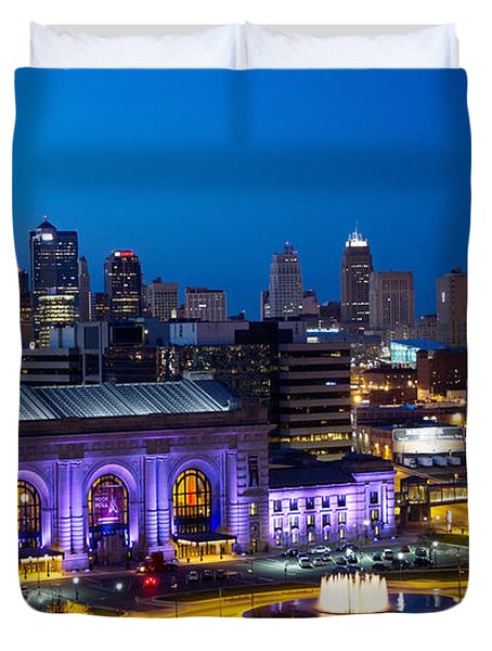 Kcmo Union Station Duvet Cover