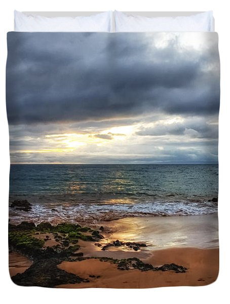 Keawakapu Sunset Duvet Cover