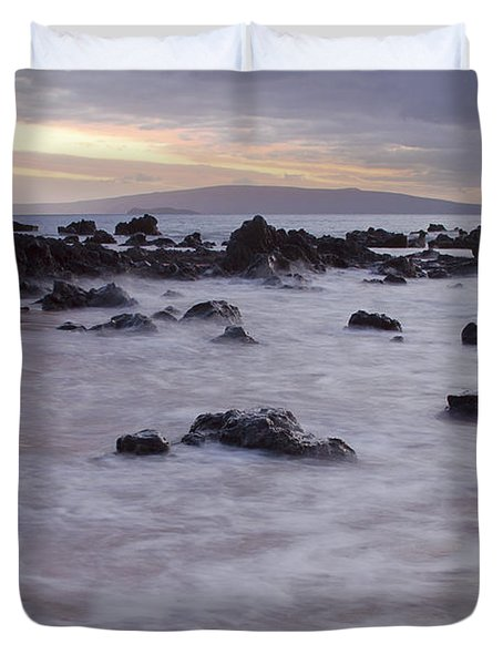 Keawakapu Tropical Nights Duvet Cover by Sharon Mau