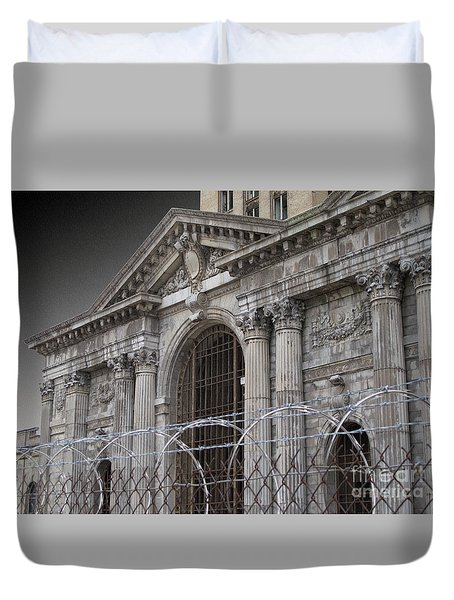 Keep Out Duvet Cover
