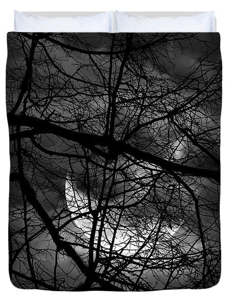 Keeper Of Spirits Duvet Cover by Lourry Legarde