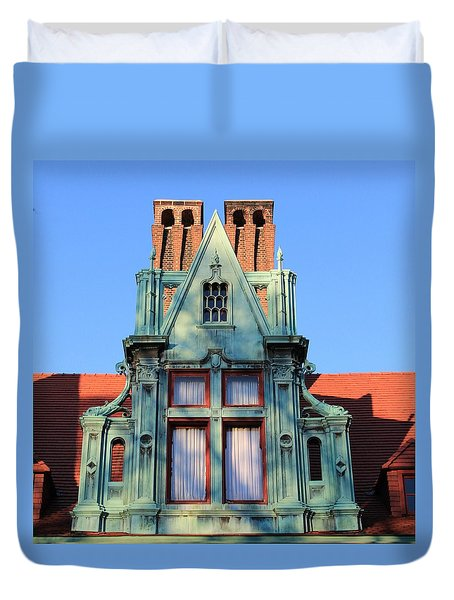 Keeper Of The Past Duvet Cover