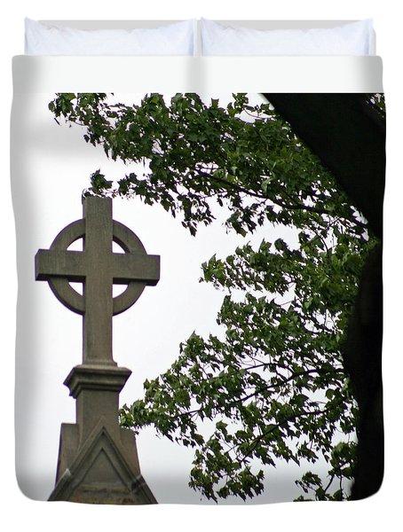 Keeping The Faith Duvet Cover
