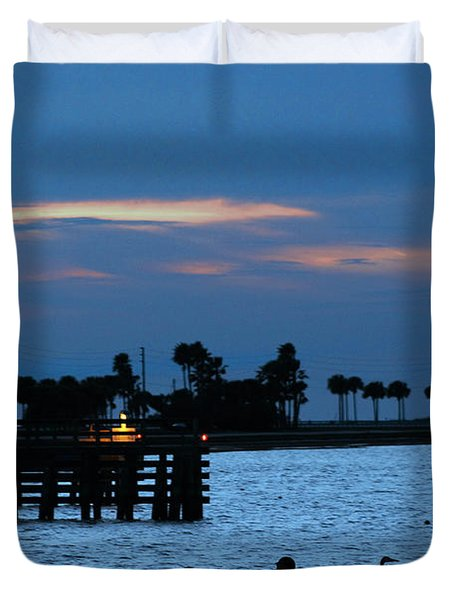 Keeping Watch Duvet Cover by Robin Lewis