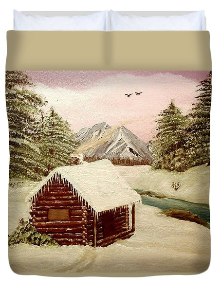 Kelly's Retreat Duvet Cover by Sheri Keith