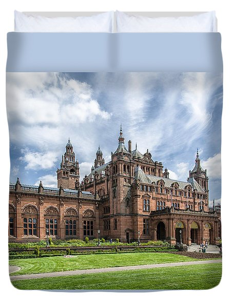 Kelvingrove Art Gallery And Museum Duvet Cover
