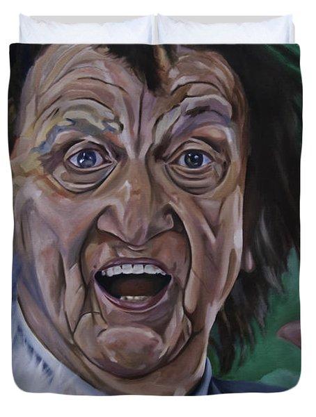 Ken Dodd Duvet Cover
