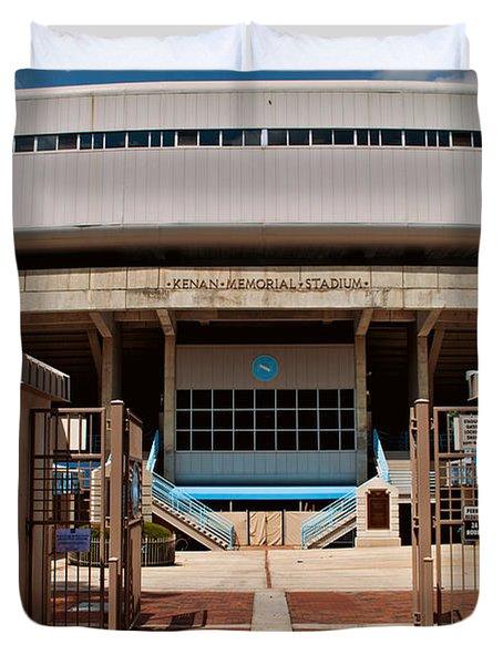Kenan Memorial Stadium - Gate 6 Duvet Cover by Paulette B Wright