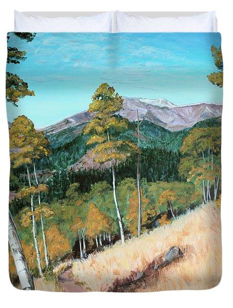 Kenosha Pass - Colrado Trail Duvet Cover