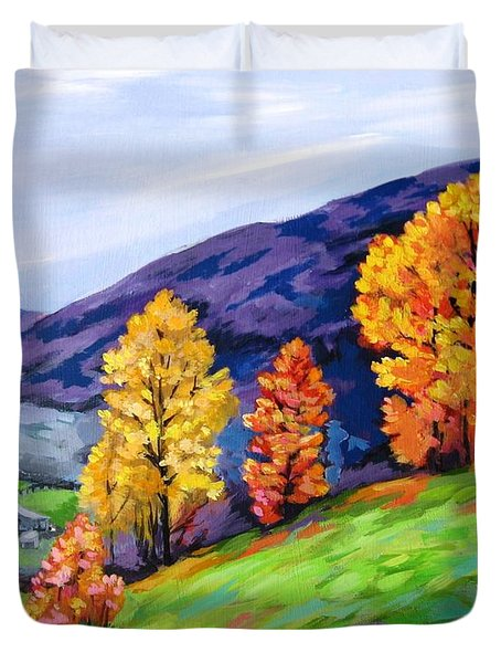 Kentucky Hillside Duvet Cover