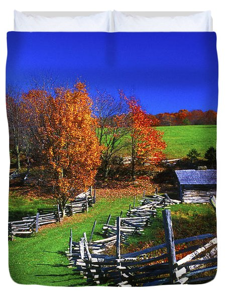 Kentucky Settlement Duvet Cover by Paul W Faust -  Impressions of Light