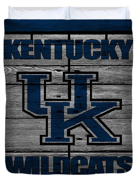 Kentucky Wildcats Duvet Cover