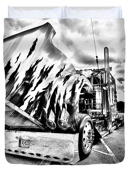 Kenworth Rig Duvet Cover