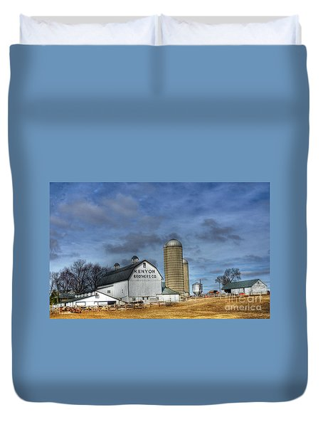 Kenyon Brothers Dairy Duvet Cover