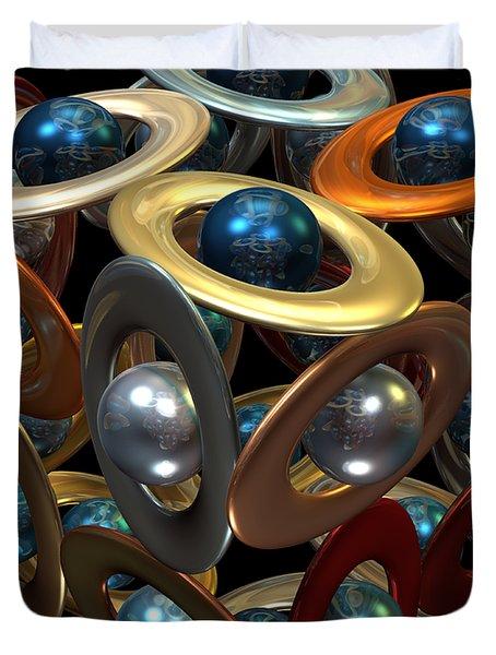 Kepler's Dream Duvet Cover by Manny Lorenzo
