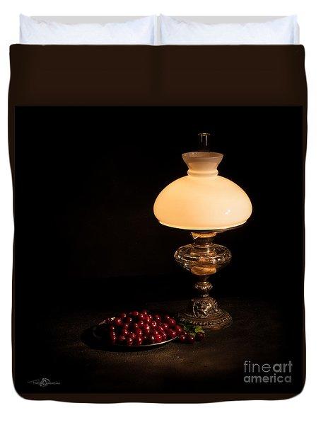 Kerosene Lamp Duvet Cover