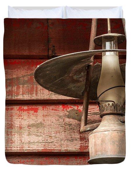 Kerosene Lantern Duvet Cover