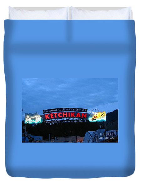 Ketchikan Duvet Cover by Robert Bales