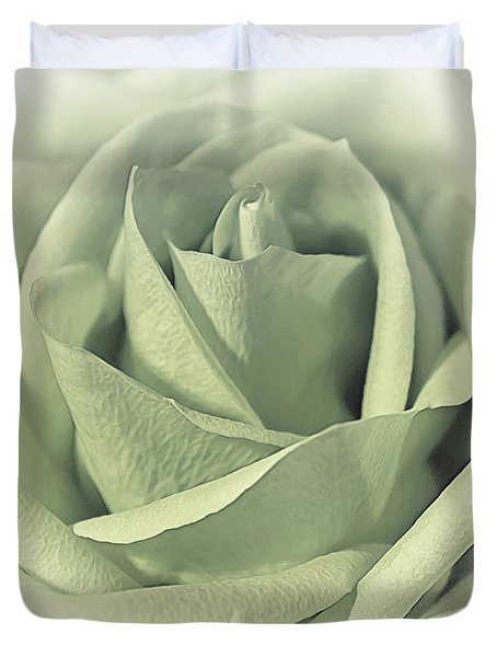 Key Lime Souffle Duvet Cover
