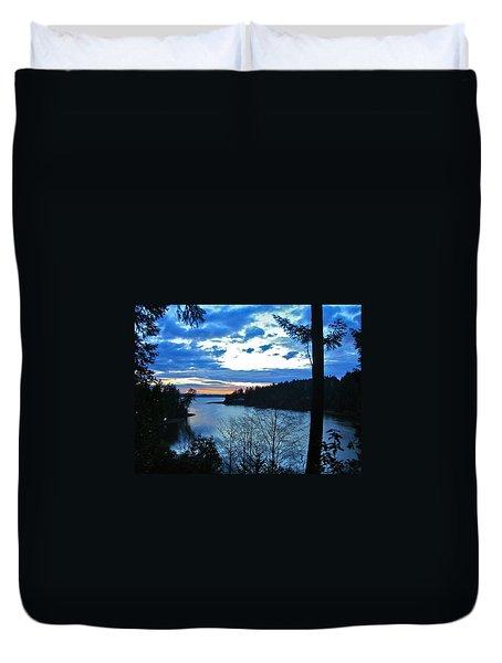 Key Peninsula Duvet Cover by Floria Varnoos