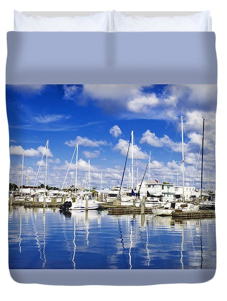 Key West Duvet Cover