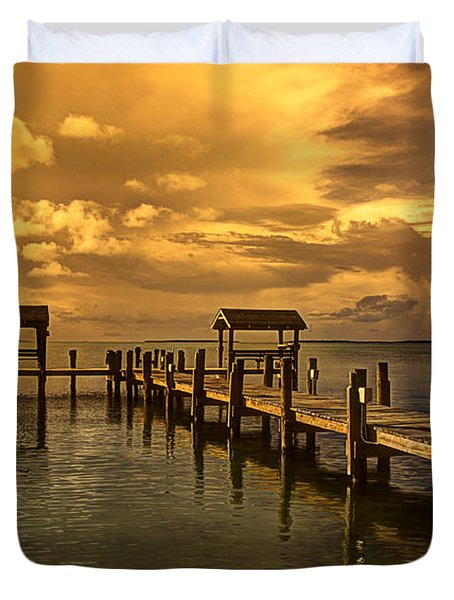 Keys II Duvet Cover by Bruce Bain