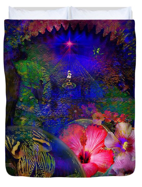 Solar Paradise Duvet Cover
