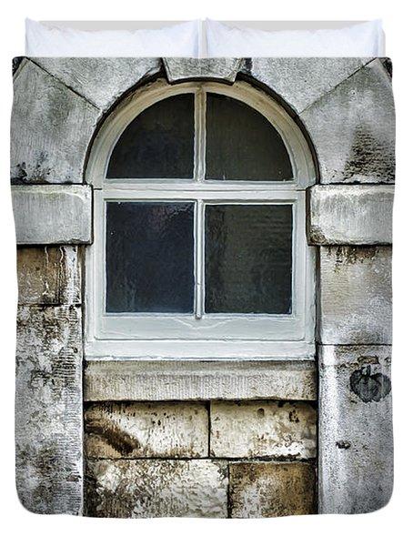 Keystone Window Duvet Cover by Heather Applegate