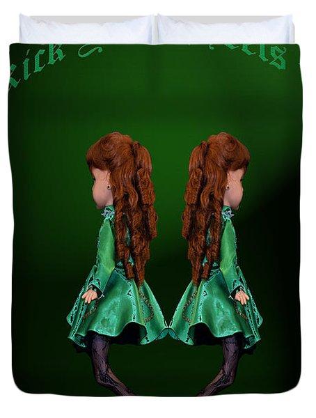 Kick Your Heels Up Duvet Cover by LeeAnn McLaneGoetz McLaneGoetzStudioLLCcom