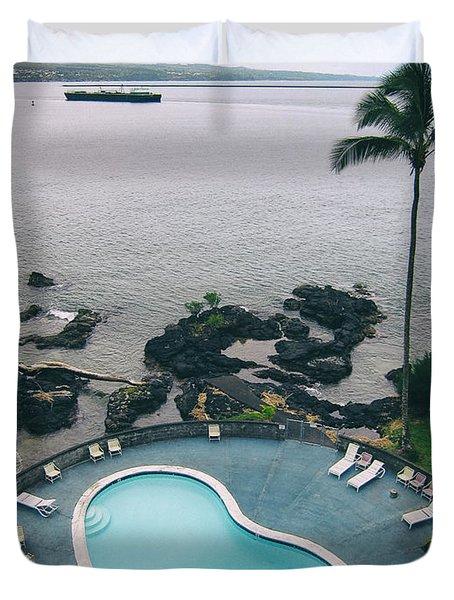 Kidney Pool In Paradise Duvet Cover