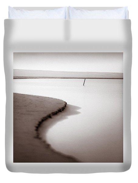 Kijkduin Beach Duvet Cover