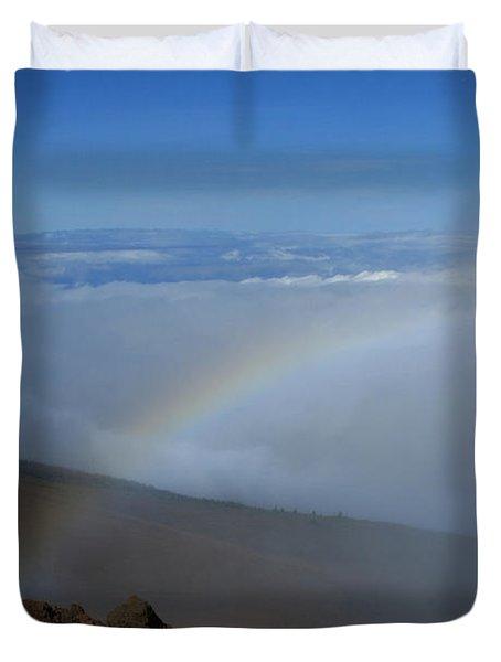 Kilakila O Haleakala Ala Hea Ka La Duvet Cover by Sharon Mau