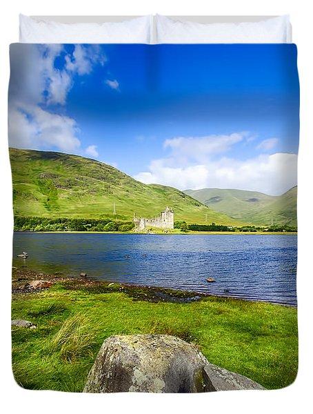 Kilchurn Castle Loch Awe Duvet Cover