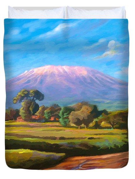 Kilimanjaro Duvet Cover