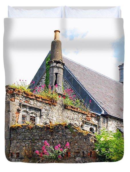Kilkenny House Duvet Cover by Mary Carol Story