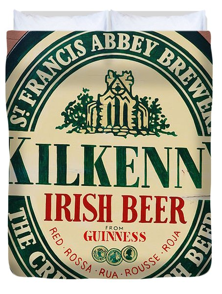 Kilkenny Irish Beer Duvet Cover